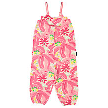 Buy Polarn O. Pyret Baby Flamingo Playsuit, Pink Online at johnlewis.com