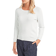 Buy Weekend MaxMara Girone Jumper, White Online at johnlewis.com