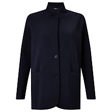 Buy Weekend MaxMara Alacre Virgin Wool Blazer, Midnight Blue Online at johnlewis.com