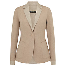 Buy Weekend MaxMara Favilla Wool Jersey Jacket, Beige Online at johnlewis.com