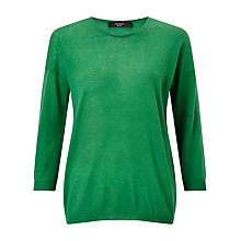 Buy Weekend MaxMara Rosaria Cashmere Jumper, Emerald Online at johnlewis.com