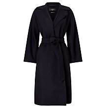 Buy Weekend MaxMara Macina Wrap Coat, Ultramarine Online at johnlewis.com