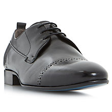 Buy Bertie Prickle Punch Hole Toecap Detail Leather Derby Shoes Online at johnlewis.com