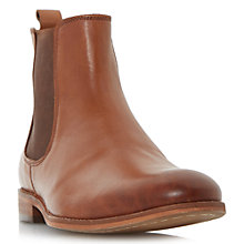 Buy Dune Montpelier Round Toe Leather Chelsea Boots Online at johnlewis.com