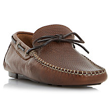 Buy Bertie Baraboo Leather Driving Loafers Online at johnlewis.com