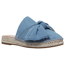 Buy KG by Kurt Geiger Niamh Backless Espadrilles Online at johnlewis.com