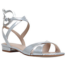 Buy KG by Kurt Geiger Mina Cross Strap Heart Sandals Online at johnlewis.com
