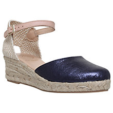 Buy KG by Kurt Geiger Minty Two Part Wedge Heeled Espadrilles Online at johnlewis.com
