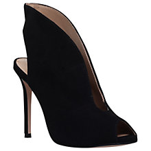 Buy Kurt Geiger Dayna Stiletto Heeled Shoe Boots, Black Online at johnlewis.com
