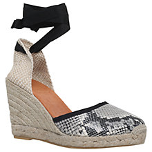 Buy KG by Kurt Geiger Mimi Wedge Heeled Espadrilles Online at johnlewis.com