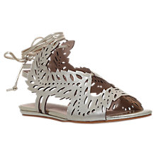 Buy KG by Kurt Geiger Malta Cut Out Tie Sandals Online at johnlewis.com