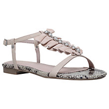 Buy KG by Kurt Geiger Napa Sandals, Nude Online at johnlewis.com
