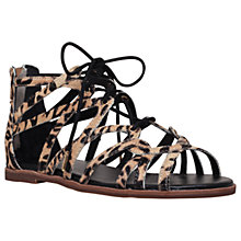 Buy KG by Kurt Geiger Maisy Multi Strap Sandals, Beige Comb Online at johnlewis.com