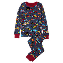 Buy Hatley Children's Demolition Cars Pyjamas, Blue Online at johnlewis.com