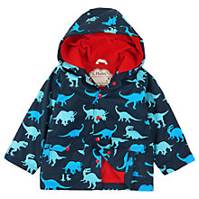 Buy Hatley Boys' Lots of Dinos Dinosaur Raincoat, Navy Online at johnlewis.com