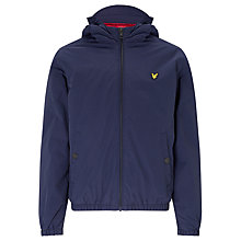 Buy Lyle & Scott Boys' Zip Through Jacket, Indigo Online at johnlewis.com