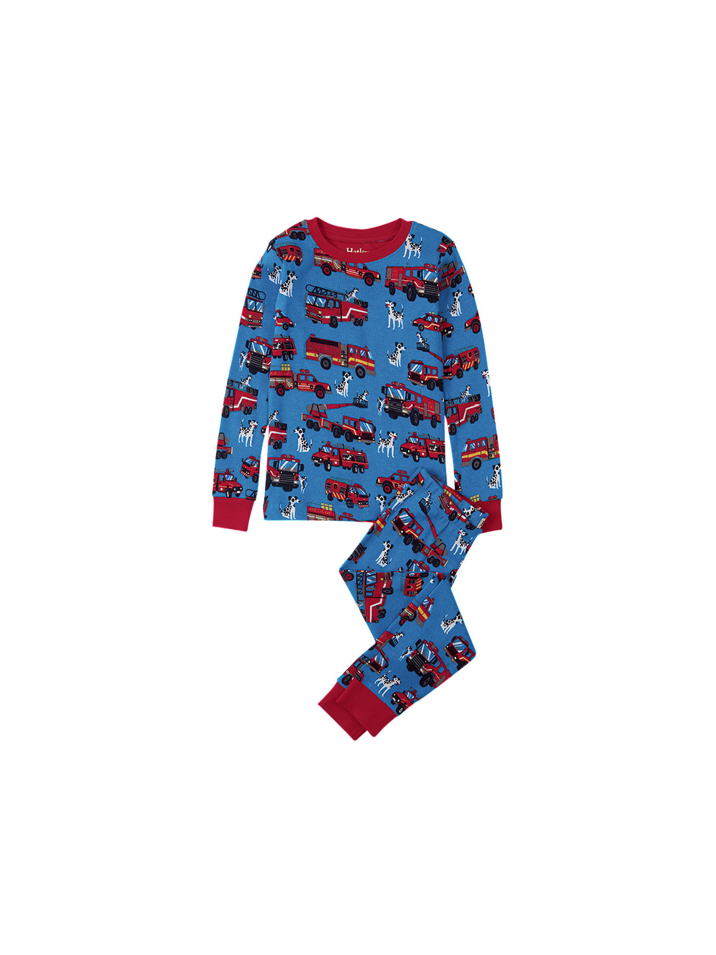 02f13312f Hatley Children s Fire Trucks Pyjamas