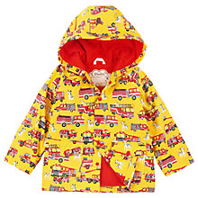 Buy Hatley Boys' Firetrucks and Dalmatians Raincoat Online at johnlewis.com