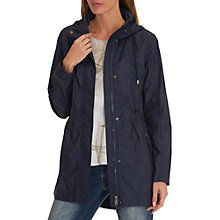 Buy Betty Barclay Hooded Parka Coat, Iris Blue Online at johnlewis.com