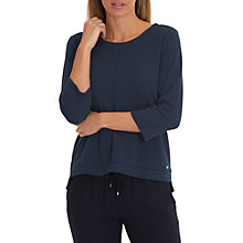 Buy Betty & Co. Textured Sweat Top, Iris Blue Online at johnlewis.com