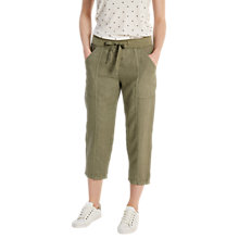 Buy White Stuff Faria Linen Crop Trousers Online at johnlewis.com