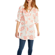 Buy White Stuff Indo Floral Print Linen Tunic Online at johnlewis.com