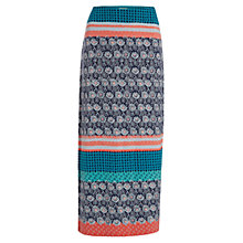 Buy White Stuff Happy Holidays Maxi Skirt, Multi Online at johnlewis.com