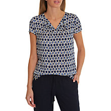 Buy Betty & Co. Cap Sleeve Printed Blouse Online at johnlewis.com