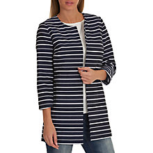 Buy Betty Barclay Striped Coat, Blue/White Online at johnlewis.com