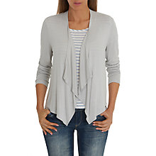 Buy Betty Barclay Waterfall Cardigan, Light Silver Melange Online at johnlewis.com