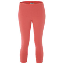 Buy White Stuff Jumping Lil Cropped Leggings, Coral Orange Online at johnlewis.com