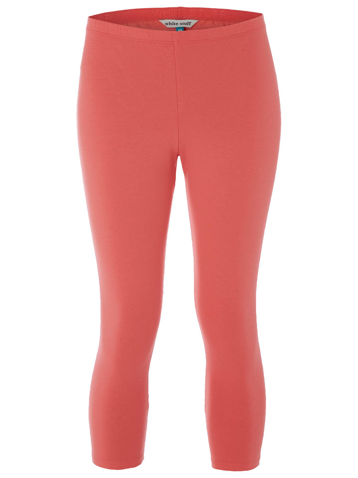 bb2481a642bce4 Buy White Stuff Jumping Lil Cropped Leggings, Coral Orange, 6 Online at  johnlewis.