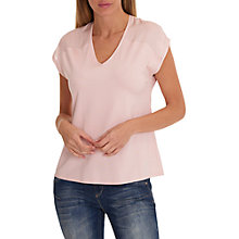 Buy Betty & Co. V Neck Jersey Top, Rose Blush Online at johnlewis.com