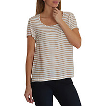 Buy Betty Barclay Striped Top, White/Rose Online at johnlewis.com