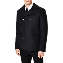 Buy Selected Homme Merce Peacoat, Dark Grey Online at johnlewis.com