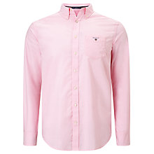 Buy Gant Broadcloth Solid Shirt Online at johnlewis.com