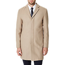 Buy Selected Homme Brove Wool Coat, Sand Online at johnlewis.com
