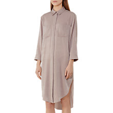 Buy Reiss Zoe Shirt Dress, Ash Online at johnlewis.com