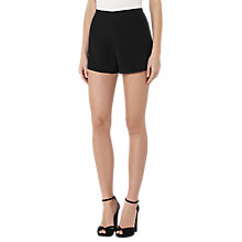 Buy Reiss Blina Day To Evening Shorts, Black Online at johnlewis.com