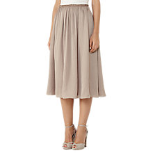 Buy Reiss Alissa Full Midi Skirt, Blossom Online at johnlewis.com