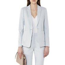 Buy Reiss Harloe Tailored Jacket, Frosted Mint Online at johnlewis.com