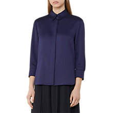 Buy Reiss Mayda Textured Blouse Online at johnlewis.com