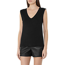 Buy Reiss Sophia Ribbon Tank Top Online at johnlewis.com