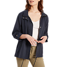 Buy White Stuff Sienna Tencel Jacket, Navy Online at johnlewis.com