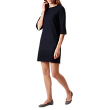 Buy Hobbs Adelaide Dress, Navy Online at johnlewis.com