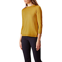 Buy Hobbs Lolita Jumper, Ochre Online at johnlewis.com