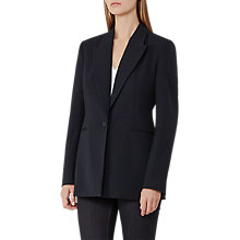 Buy Reiss Leoni Wide Lapel Blazer, Navy Online at johnlewis.com