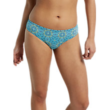 Buy White Stuff Surf Side Bikini Bottoms, Sea Breeze Green Online at johnlewis.com