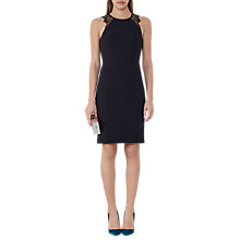Buy Reiss Saturn Fitted Dress, Night Navy Online at johnlewis.com