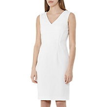 Buy Reiss Myla Tailored Dress, Off White Online at johnlewis.com